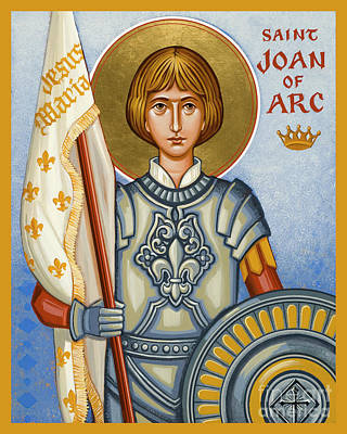 Painting - St. Joan Of Arc - Jcjor by Joan Cole