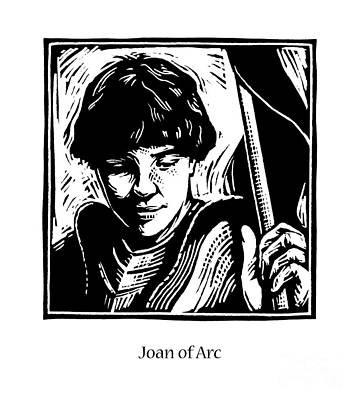 Painting - St. Joan Of Arc - Jlarc by Julie Lonneman