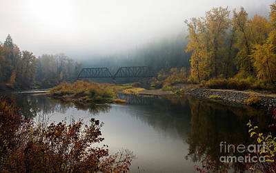 Photograph - St. Joe Mists by Idaho Scenic Images Linda Lantzy