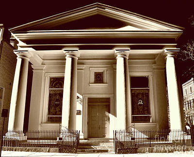 Citys Photograph - St. Johannes Lutheran Church, Sc by Skip Willits