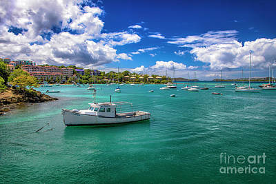 Photograph - St. John Bay by Mariola Bitner