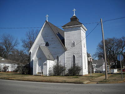 Photograph - St John Episcopal Church by Hugh Peralta