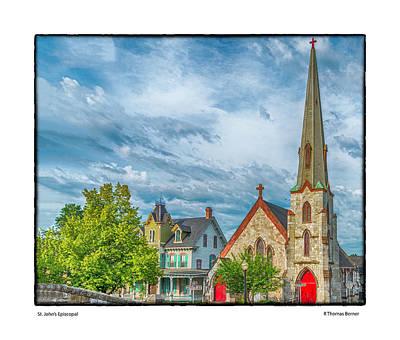 Photograph - St. John Episcopal by R Thomas Berner