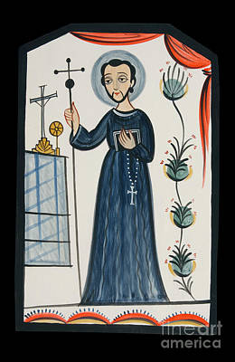 Painting - St. John Of God - Aojog by Br Arturo Olivas OFS