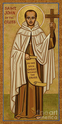 Painting - St. John Of The Cross - Jccro by Joan Cole