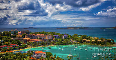 Photograph - St. John Panorama by Kasia Bitner