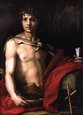 Sarto Painting - St John The Baptist by MotionAge Designs