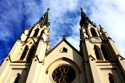 St. John The Baptist Cathedral Art Print by Dana  Oliver