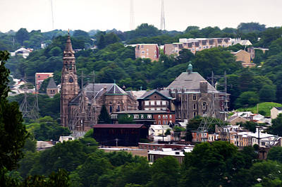 Manayunk Photograph - St John The Baptist Church Manayunk Philadelphia by Bill Cannon