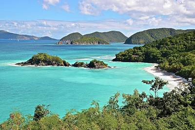 Paradise On Earth Photograph - St John Trunk Bay Vista by Frozen in Time Fine Art Photography