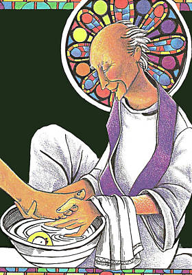 Painting - St. John Vianney - Mmjvi by Br Mickey McGrath OSFS