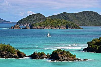 Paradise On Earth Photograph - St John Vista by Frozen in Time Fine Art Photography