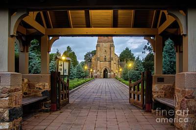 Photograph - St Johns Anglican Church, Reid Act by Stuart Row