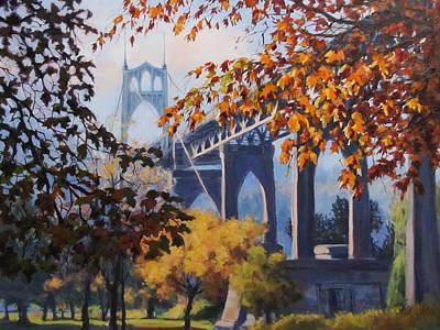 Painting - St Johns Autumn by Karen Ilari