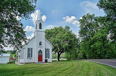 Photograph - St. John's Church by Cricket Hackmann