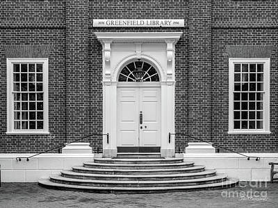Photograph - St. John's College Annapolis Greenfield Library by University Icons