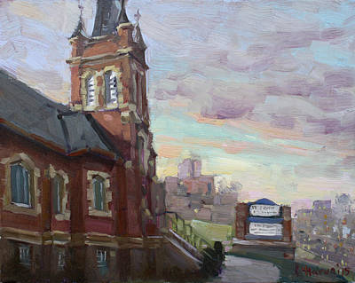 Dundas Painting - St John's Dixie  by Ylli Haruni