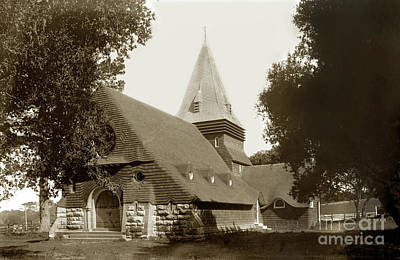 Photograph - St. Johns  Episcopal Church by California Views Mr Pat Hathaway Archives