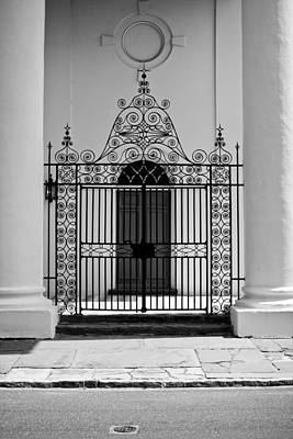 St John's Lutheran Church Entrance Art Print by Dustin K Ryan