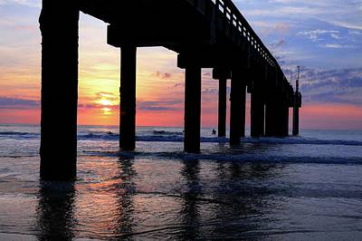 Photograph - St. Johns Pier St. Augustine Florida II by Carol Montoya