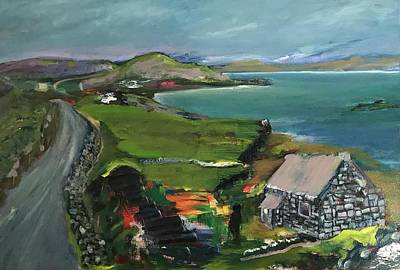 Painting - St John's Point, Donegal Ireland by Mary Feeney