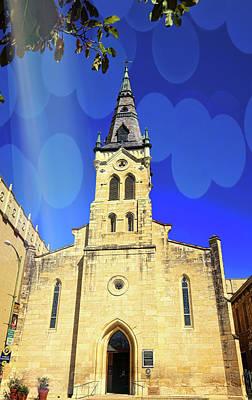 Photograph - St. Joseph Church San Antonio by Judy Vincent