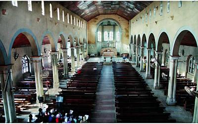 Photograph - St Joseph Interior by Muyiwa OSIFUYE
