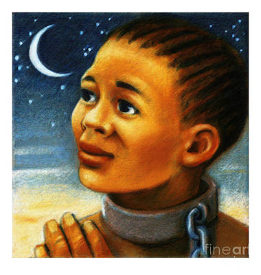 Painting - St. Josephine Bakhita - Jlyjb by Julie Lonneman