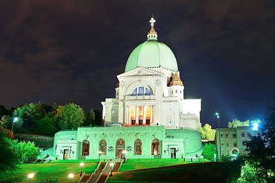 Photograph - St. Joseph's Oratory by Songquan Deng