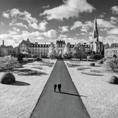 Photograph - St Joseph's Square At Maynooth University - Kildare, Ireland by Barry O Carroll