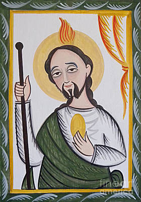 Painting - St. Jude - Aostj by Br Arturo Olivas OFS
