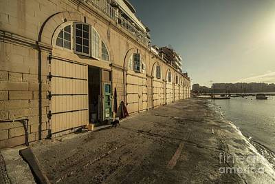 Maltese Photograph - St Julians Boathouse  by Rob Hawkins