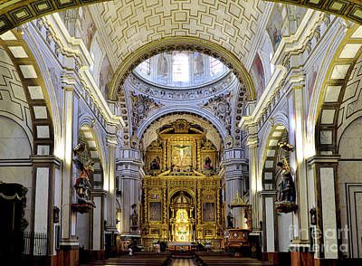 St Justo And Pastor Church IIi Art Print by Guido Montanes Castillo