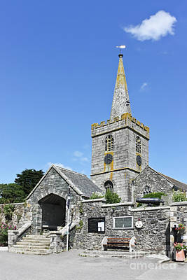 Photograph - St Keverne Parish Church by Terri Waters