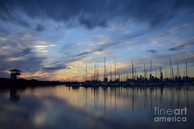 St.kilda Photograph - St. Kilda Sunset by Jackson Kowalski