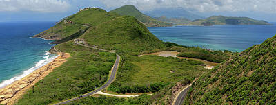 St. Timothy Photograph - St. Kitts And Nevis Timothy Hill by Sanjay Bhave