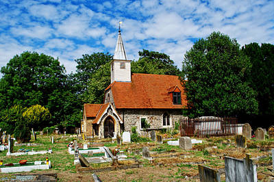 Photograph - St Laurence Church Cowley Middlesex by Chris Day