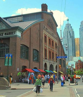 Photograph - St Lawrence Market by Ian  MacDonald