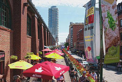 Photograph - St. Lawrence Food Market by Lucinda Walter