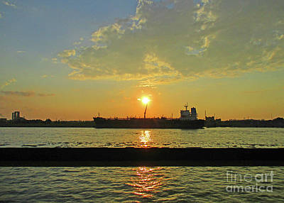 Photograph - St Lawrence Sunset 3 by Randall Weidner
