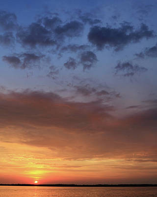 Photograph - St. Lawrence Sunset I by Lori Deiter