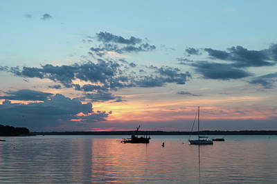 Photograph - St. Lawrence Sunset II by Lori Deiter