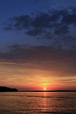 Photograph - St. Lawrence Sunset 3 by Lori Deiter