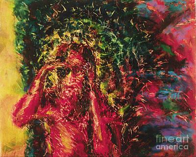 St Lazarus Painting - St. Lazarus - Bglaz by Fr Bob Gilroy SJ