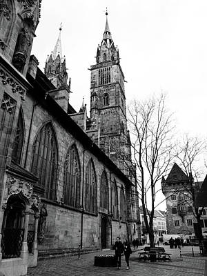 Photograph - St. Lorenz Cathedral by Steven Myers
