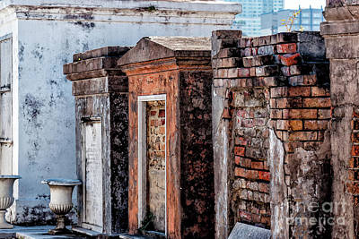 Photograph - St. Louis 1 Tombs--nola by Kathleen K Parker