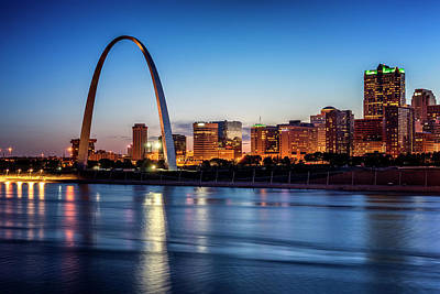 Photograph - St Louis And The Mississippi River_dsc4650_16 by Greg Kluempers