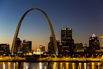 Photograph - St. Louis Arch by James Menzies