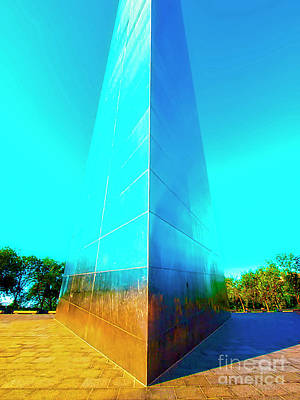 Photograph - St Louis Arch  by Tom Jelen