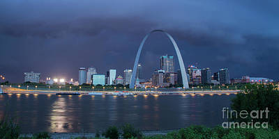 Photograph - St Louis Before The Storm by Garry McMichael